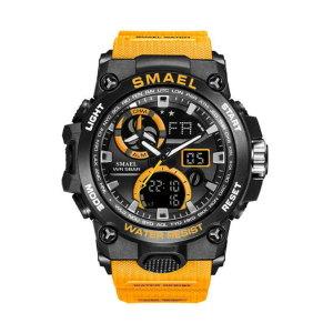 SMAEL 8011 남성용 50m 방수 스포츠 손목시계