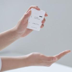 [생활공작소] 손 소독제 17ml x 2개 /스프레이형 휴대용 손소독제