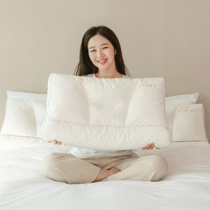 수면공감 우유베개 라텍스 기능성 경추 베개