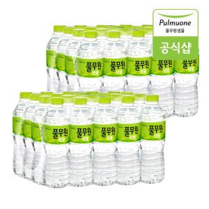 풀무원 샘물 500ml 40pet / 생수 / 물 쿠폰가9900