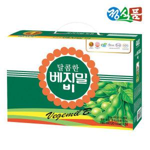 [베지밀] 정식품 달콤한 베지밀B 190ml 24팩 선물용