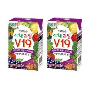 [썬몬드] 베지밀 건강담은 야채과일 V19 145ml 24팩