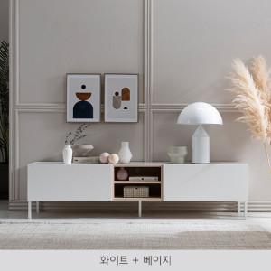 [리바트온라인] 무드 모던 1800 거실장 4색택1