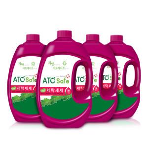 [아토세이프] (쿠폰가 7320원) 세탁세제 (2.5L 4개) / 액체세제