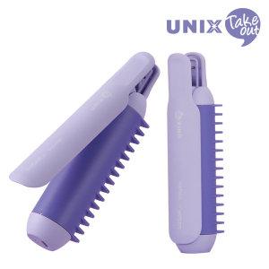 [유닉스] 유닉스 테이크아웃 슈가핀 USB헤어롤 PW-A5926(26mm)