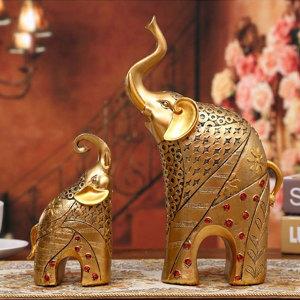 돈을 부르는 설 선물! 황금 코끼리상 2P