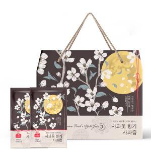 명절선물세트 사과꽃향기 사과즙 100mlX50팩 선물박스