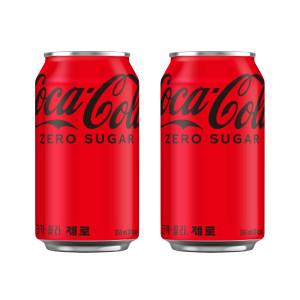 [코카콜라] (본사직영) 코카콜라 제로 355캔 24입