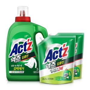 [액츠] 액체세제 액츠퍼펙트 2.2L 6개 안티박