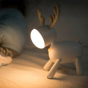 무아스 LED 루돌프 무드등 (무선사용가능)