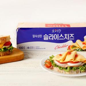 [소와나무] 동원 소와나무 슬라이스 치즈 1.8kg x 2개 (총 200장)