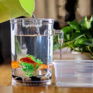 자동 물청소 어항 자갈 수초 풀세트