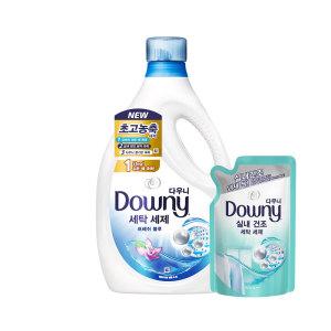 [다우니] 다우니 프리미엄 세탁세제 액체형 블루 2.8L