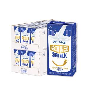 맛있는우유GT 슈퍼밀크 180ml 48팩 프리미엄