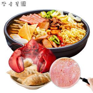 고기반 부대찌개 2봉 + 랍스타만두 2봉