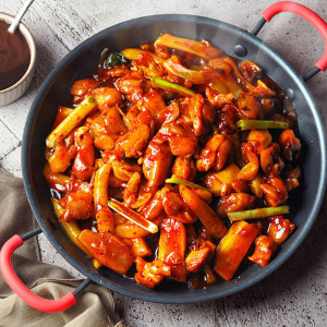 [참도깨비] 춘천 식 숯불 닭갈비 750g x 2봉 /2세트시 떡볶이