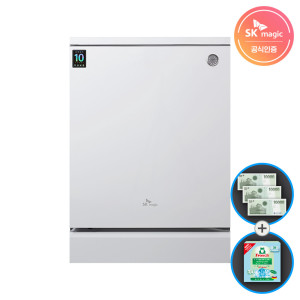 [SK매직] 매직 식기세척기 터치온 DWA8001D 자동문열림
