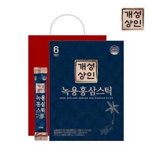 [개성인삼농협] 개성상인 녹용홍삼스틱 10ml 100포 /쇼핑백 증정