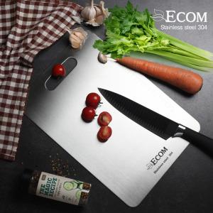ECOM 스테인레스 도마 소형 SUS304 (29*x20cm)