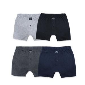 남성 니트 트렁크/속옷  4종세트