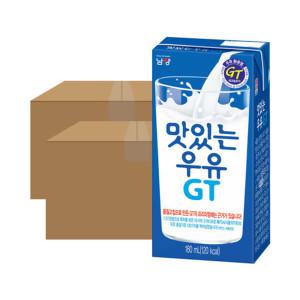 [맛있는우유GT] 맛있는우유 GT 멸균팩 180ml 48입