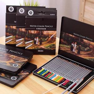 DELI 전문가용 물에 녹는 수채 색연필