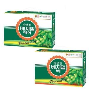 [베지밀] 담백한 베지밀A + 달콤한 베지밀B 190ml 48팩 선물용