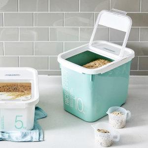 [락앤락] 쌀통 잡곡통 5KG 10KG 쌀보관통 밀폐용기 소분용기