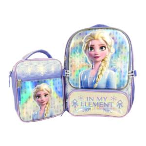 디즈니 겨울왕국2 책가방+보조가방 세트