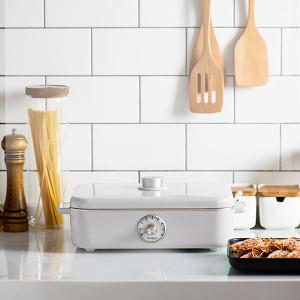 [보토] 전기그릴 사각 테이블 멀티쿠커 A4BOX WHITE