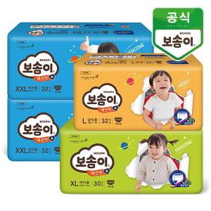 [보솜이] 보솜이  액션핏 팬티 기저귀 남/여 x 4팩