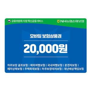 [NH농협손해보험] NH농협손해보험 2만원권 보험상품권