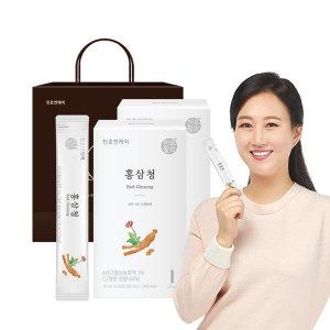 [천호엔케어] 6년근 홍삼 홍삼청스틱 30포 홍삼농축액 1+1박스
