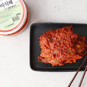 좁쌀 넣은 가자미식해 500g (함경도식 속초명물)