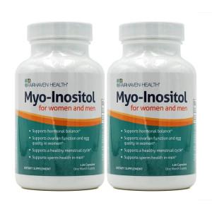 [페어헤븐헬스] 2개 미오 이노시톨 여자 남자 임신 준비 Myo Inositol 포 우먼 앤 맨 120 캡슐