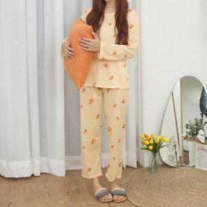 여자 수면 잠옷 세트 캐릭터 파자마 홈웨어 원피스