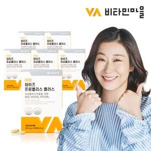 비타민마을 와이즈 프로폴리스 플러스 6박스 6개월분