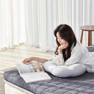 [로미홈] 9존 마약매트리스 침대 접이식 바닥 토퍼 수면매트
