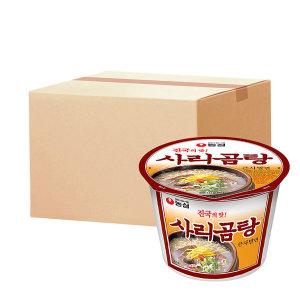 [사리곰탕면] 사리곰탕큰사발 111g 16개 박스