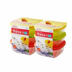 [락앤락] 햇쌀밥용기 오븐글라스 320ml 2팩 (총 6개) 밀폐용기