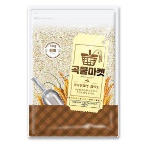 곡물마켓 현미 5kg (박스포장)
