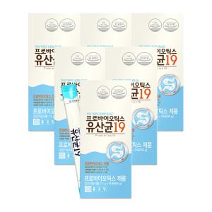 [종근당] 종근당 프로바이오틱스 유산균 19  30포 6박스(6개월)
