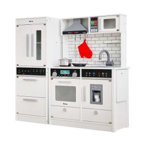[키앤비] 더 셰프 주방놀이 +프리미엄 냉장고(화이트)