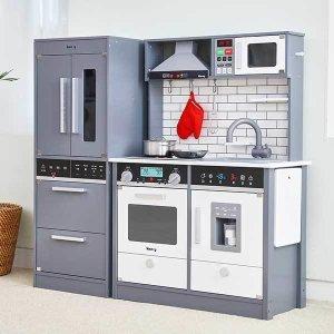 [키앤비] 더 셰프 주방놀이 +프리미엄 냉장고(그레이)