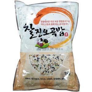 (전단상품)찰진오곡밥 2KG 1KGx2입 기획