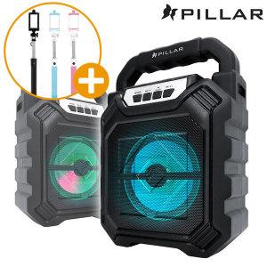 [컴소닉] PILLAR BT-DT13 블루투스스피커 라디오 휴대용 +셀카봉