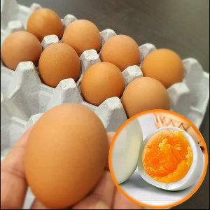 [쪽빛누리] 계란 반숙란 소프트 반숙계란 대란 30알 HACCP 찐계란