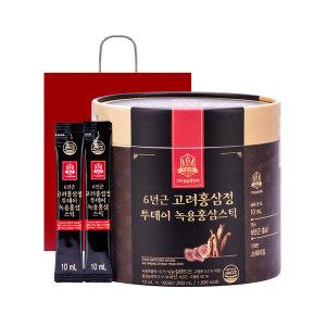 고려홍삼중앙회 투데이 녹용홍삼스틱 10ml100포/대용량