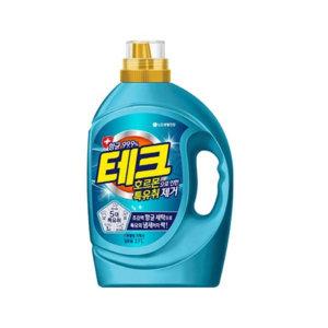 [테크액체세제] 테크 특유취 액체세제 일반용기 2.7L