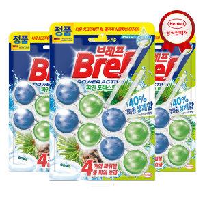 [브레프] 브레프 파워액티브 파인 2P x3개 변기세정제